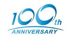 NTN創業100周年ロゴ
