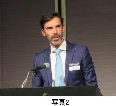 写真2 Aldo Govi 上級副社長