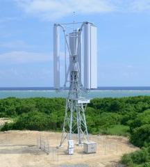 垂直軸型マグナス式風力発電機