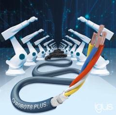 イーサネットケーブル「CFROBOT8.PLUS」-イグス
