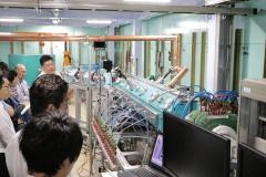 見学で訪れた中性子工学施設