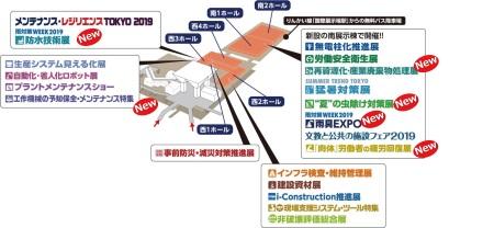 メンテナンス・レジリエンス TOKYO 2019一覧