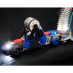 荏原環境プラントとハイボット,小型走行型ロボットでボイラ水管厚さの自動連続測定に成功