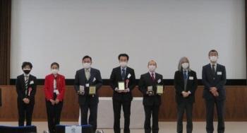 岩木賞受賞者の記念写真--トライボコーティング技術研究会 第23回シンポジウム