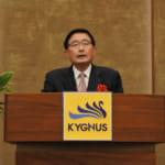 若澤雅博社長-キグナス石油 2021年度全国キックオフ