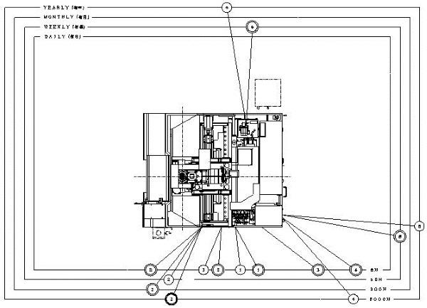 YBM-950V CNCジグボーラー  950114012