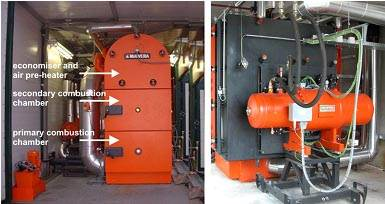 BIOS BIOENERGY SYSTEMのバイオマス燃焼発電システム
