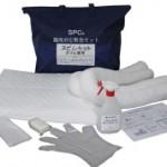SPC漏洩対応緊急スピルキット オイル専用 | 油吸着材 | 中国興業セット スピルキット オイル専用(油吸着材)  中国興業
