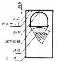 離油度試験器組立図(一例)
