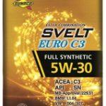 SUNOCO SVELT EURO C3 5W-30   欧州車の認証規格に適合したエンジンオイル   日本サン石油