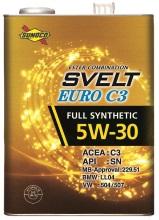 SUNOCO SVELT EURO C3 5W-30 | 欧州車の認証規格に適合したエンジンオイル | 日本サン石油