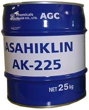 アサヒクリンAK-225   臭素系溶剤代替フッ素系溶剤   AGC