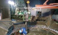 セメント会社現地機械加工-現地機械加工