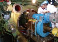 鋳鍛設備現地機械加工-現地機械加工
