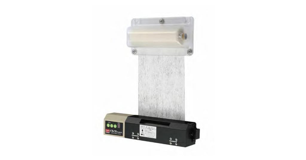 くるくるフィルター | 自動巻取りフィルター | オーム電機