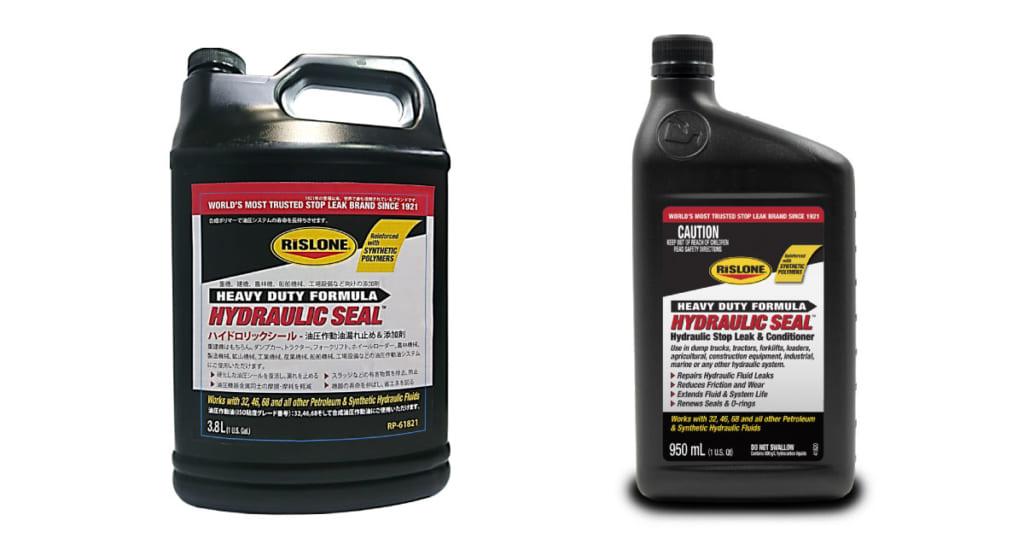 Rislone社製 ハイドロリックシール   油圧作動油漏れ止め添加剤   リークラボ・ジャパン